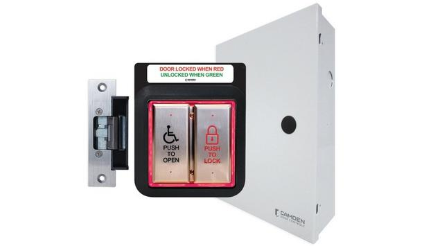 Camden Door Controls Publishes A New Application Spec Guide For Wireless Barrier-Free Restroom Control System