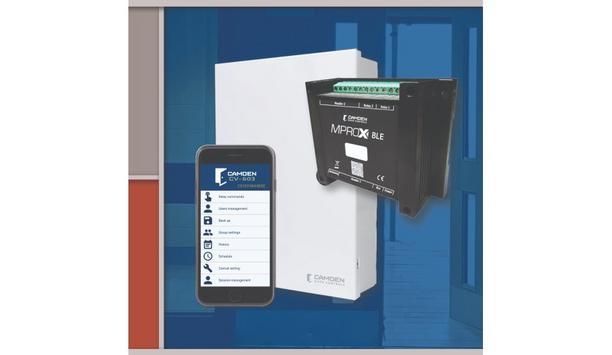 Camden Door Controls Announce The Launch Of MPROX-BLE: CV-603 Series 2 Door Bluetooth Access Control System