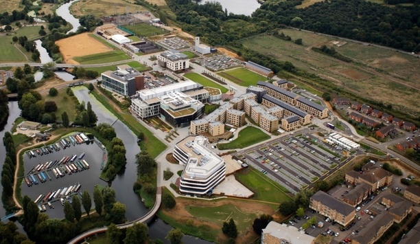 Castel IP Video Entry Systems Installed By Protec Fire & Security Group On University Of Northampton Campus
