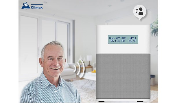 Climax GX Cubic Smart Care Medical Alarm Brings Voice Control, Tele-Health Monitoring, Emergency Alarm Directly To Senior Citizens' Homes