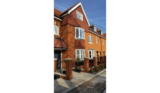 Comelit Secures Kebbell Homes' Aubury Place Location By Installing Mini Handsfree Monitors