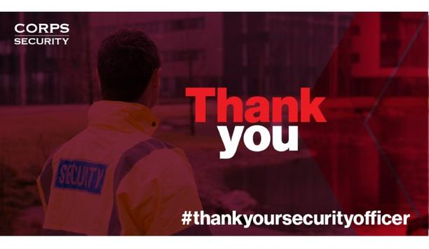 Corps To Celebrate Annual Thank Your Security Officer Day To Recognize Security Teams' Work