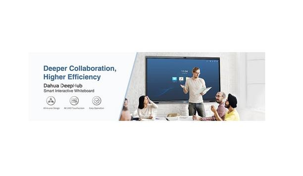 Dahua Technology Unveils DeepHub Smart Interactive Whiteboard For Efficient And Collaborative Video Conferencing