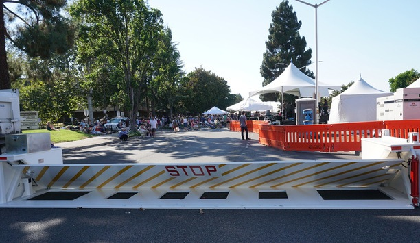 Video Demonstrates Delta's Portable Vehicle Barriers In Use At Fremont Street Festival