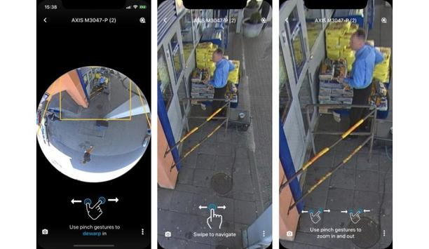 AXIS Camera Station VMS Mobile App Allows For Image Dewarping