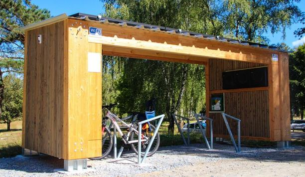 Hanwha Techwin's Wisenet Video Surveillance Systems Secure e-BikePort Charging Stations In France