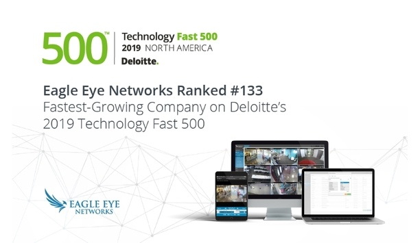 Eagle Eye Networks Enters The List Of Deloitte's 500 Fastest-Growing Technology Companies