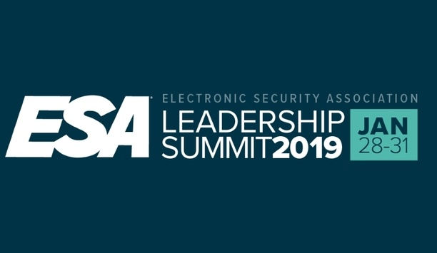 Electronic Security Association 2019 Leadership Summit Reveals Schedule And Speaker Line-up