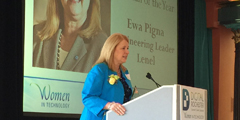 Digital Rochester Names Lenel's Ewa Pigna As Technology Woman Of The Year 2016