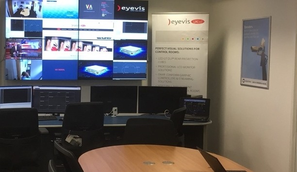 eyevis UK Launches Control Room And Video Wall Demonstration Unit In London Venue