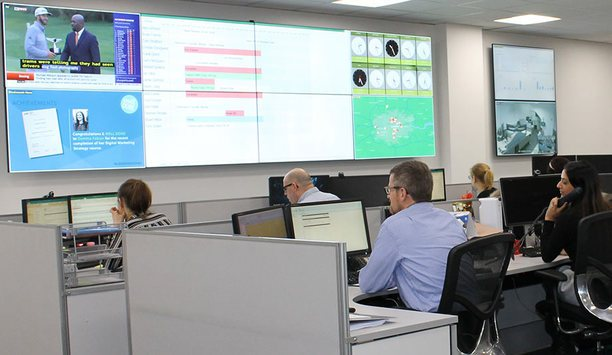 eyevis Deploys Netpix 4900 Video Wall Controller At Electrosonic's Resource And Operations Control Centre In Dartford
