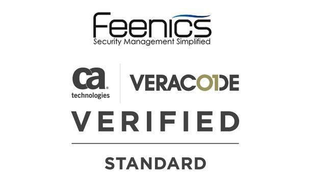Feenics Receives CA Veracode Verified Seal For Secure Software Development Procedures