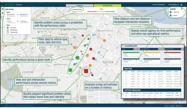 GTT's Opticom Analytics Platform Facilitates Vehicle Transit Management
