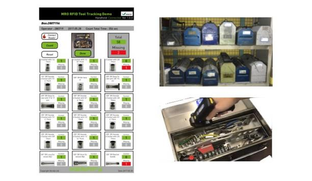 HAECO Automates Its Tool Control For Aircraft Maintenance, Repair And Overhaul (MRO) Services With Xerafy's RFID Solution
