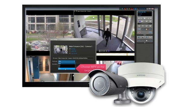 Hanwha Techwin Announces Genetec Unified IP Security Center Certification For Wisenet X Cameras