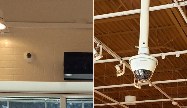 Hanwha Secures Kirkland's Stores With Its Wisenet X Series HD Dome Cameras