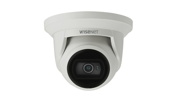 Hanwha Techwin Launches Wisenet Q Flateye IR Dome Cameras For High Humidity Environment