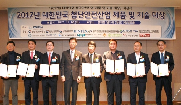 Hanwha Techwin's Wisenet 5 Chipset Awarded At High-tech Safety Industry Product And Technology Awards 2017