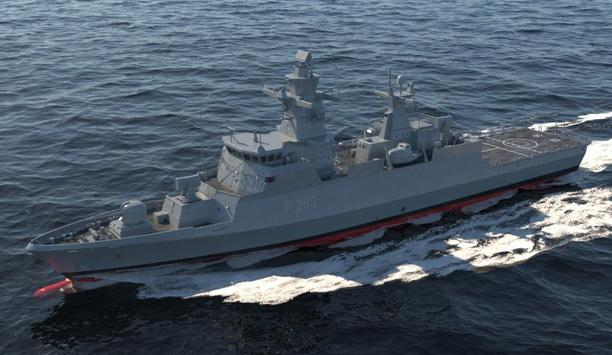 HENSOLDT Modernizes The TRS-3D Radars Of Two K130-Class Corvettes Of The German Navy