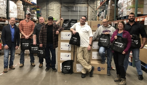 Hikvision Northeast Regional Team Partners With Mission 500 To Provide Backpacks For Needy Students