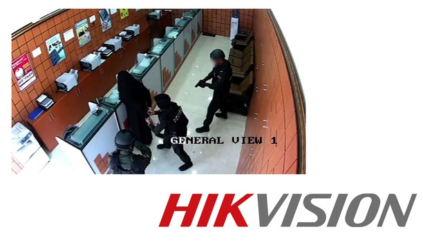 Hikvision CCTV System Foiled Attempted Robbery At Abu Dhabi Money Exchange