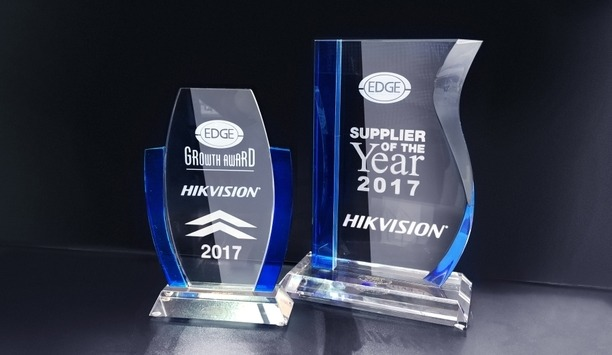 Hikvision USA Wins 'Supplier Of The Year 2017' And 'Growth Awards' From The Edge Group