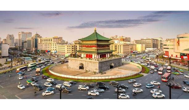 Hikvision Intelligent Traffic Management System To Help Vehicles To Flow Through Xi'an City