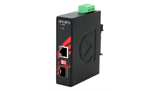 Antaira Launches IMP-C1000-SFP Series Of Compact IP30 Rated Gigabit Ethernet-To-Fiber Media Converter