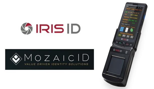 Iris ID ICAM M300 Biometric Reader Compatible With MozaicID Smartcard Software Credential Application