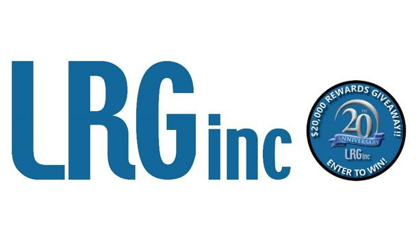 LRG Inc Celebrates 20th Anniversary With $20,000 In Customer Appreciation Prizes