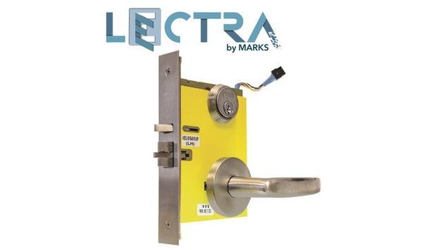 Marks USA Releases New Lectra Electrified Locks, Ideally Suited For Stairwell Doors, Hospitals And Other Fire Safety Applications
