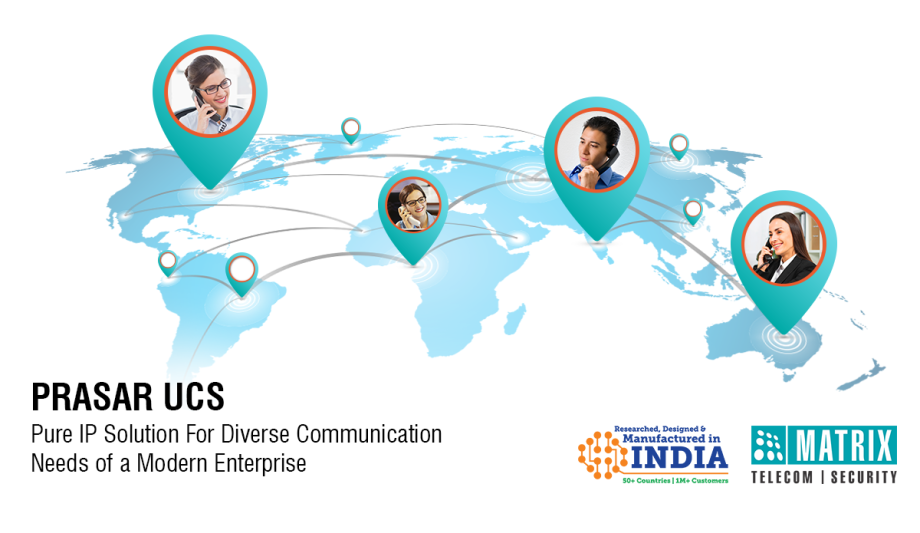 Matrix Highlights The Key Features Of Their Enterprise Unified Communication Server PRASAR UCS
