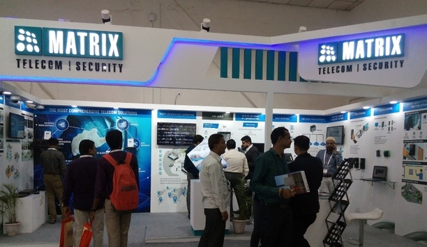 Matrix Showcases IP Video Surveillance, Access Control And Video Management Solutions At Convergence India 2018 Event