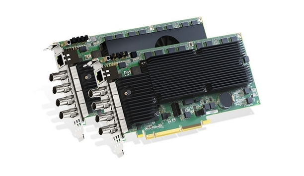 Matrox Graphics Announces Shipping Of Its Mura IPX 12G-SDI Capture And IP Encode/decode Cards