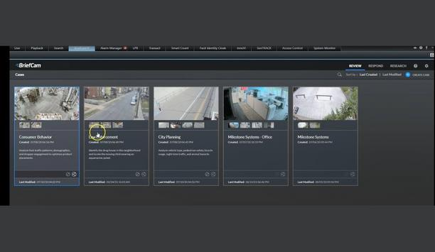 Milestone Systems And BriefCam Provide Premium Forensic Analytics With The XProtect Rapid Review Video Analytics Solution