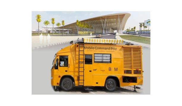 Mistral Provides Mobile Command Post To The Kempegowda International Airport To Quickly Respond To Airport Disasters