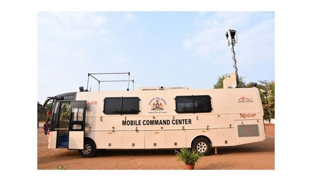Mistral Solutions Provides Hubballi-Dharwad Police With A Bus Designed With Surveillance Cameras To Monitor Activities In Crowded Places