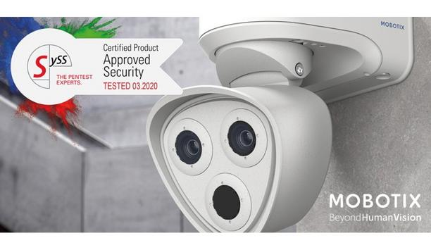 MOBOTIX M73 Video Camera Receives Security Certificate From SySS IT