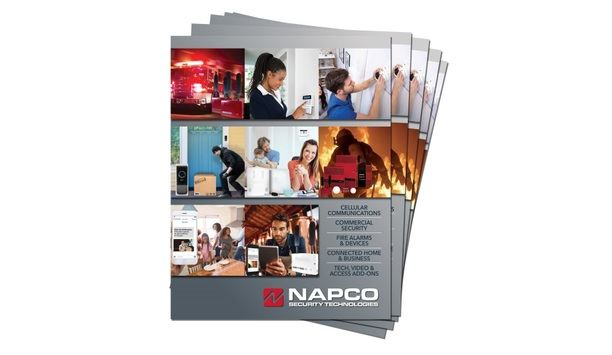 Napco Professional Security Solutions Updates Its Full Line Catalog