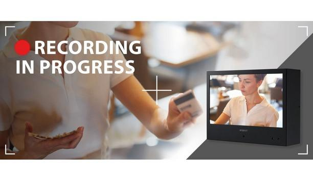 Hanwha Techwin Announces The Immediate Availability Of A New Range of Public View Monitors (PVMs) With Built-in Cameras