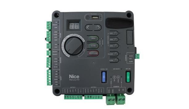 Nice Launches Mercury 310 Residential Gate Operator Controller With UL325 Compliance For Automated Gate Systems
