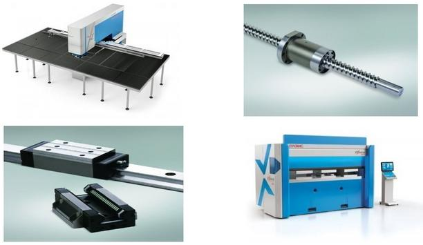 NSK Supplies Ball Screws, Linear Guides, And Bearings For Euromac's Projects