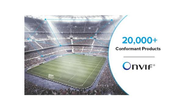 ONVIF Attains Milestone Of 20,000 Security Products Conformant To Its Various Profiles