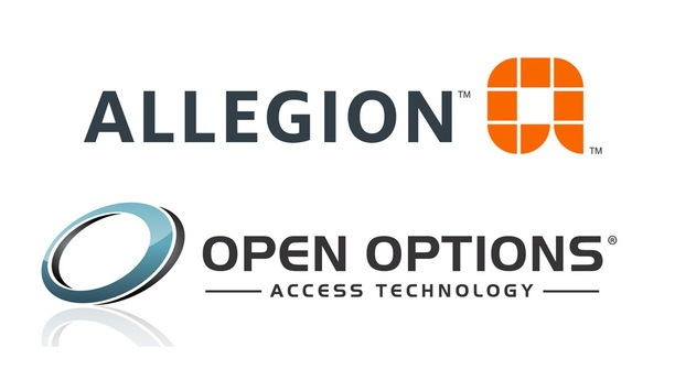 Allegion And Open Options Expand Offering Of Scalable Electronic Access Control Solutions