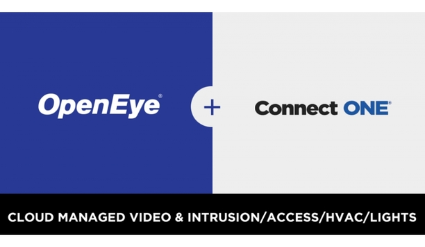 OpenEye Announces Integration Between OpenEye Web Services And Connect ONE Cloud Platform