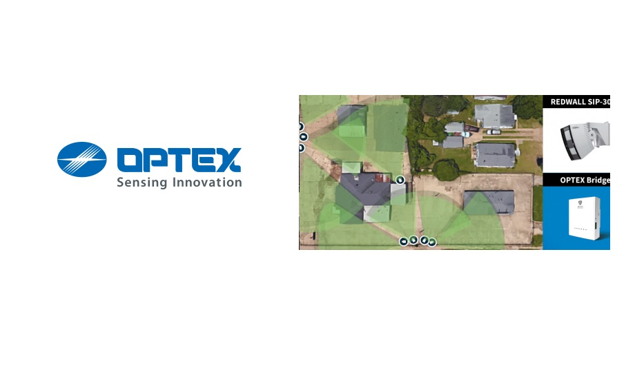 Optex Secures A Used Car Lot Perimeter With OPTEX Visual Verification Bridge And OPTEX Redwall SIP-3020 Motion Detectors