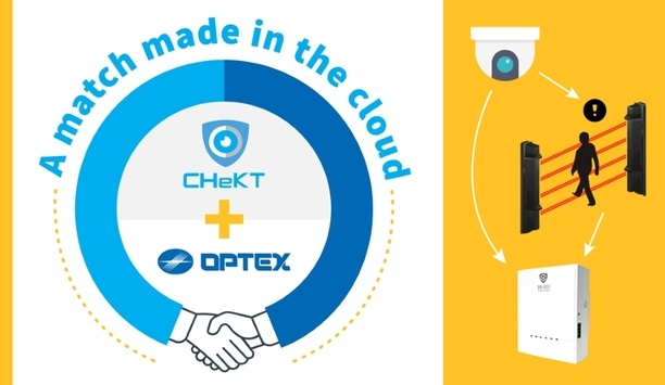 OPTEX Partners With Visual-Verification Technology From CHeKT To Enhance The Protection Capabilities Of Security Integrators