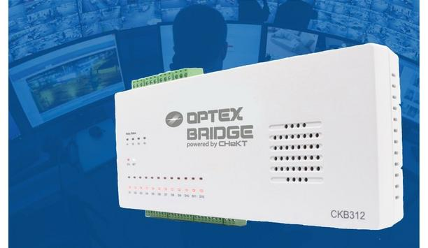 OPTEX Launches A New Twelve Channel Visual Verification Bridge For Larger Sites With Constant Monitoring Facility