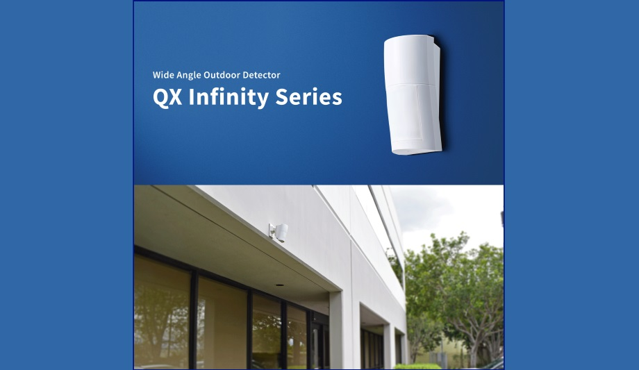 OPTEX Releases QX Infinity Series High/Low Mount Outdoor PIR And Dual-Technology Detectors