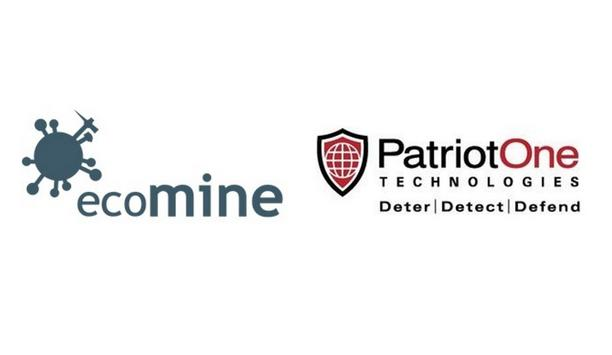 Patriot One Technologies And ecoMine Technologies Collaborate Via Canada's Digital Technology Supercluster's COVID-19 Program